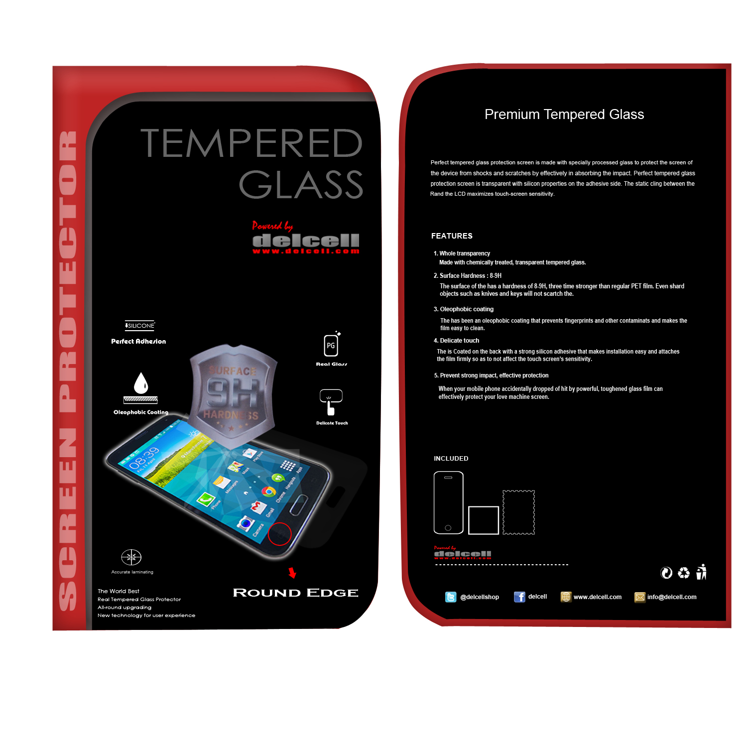Tempered Glass Redmi 1